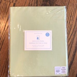Pottery Barn Set of 8 NWT Curtains